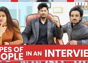 Types Of people in an interview