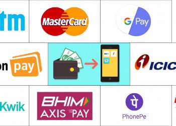 Digital E-wallet apps in India 2020