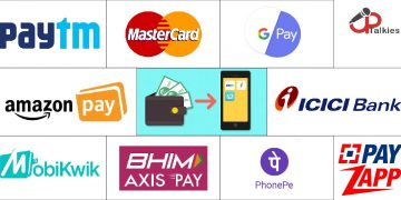 Digital E-wallet apps in India 2020