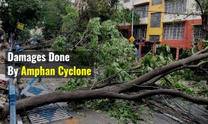 Damages Done By Amphan Cyclone