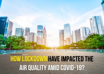 How lockdown has impacted the air quality?