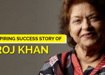 Journey of Saroj Khan