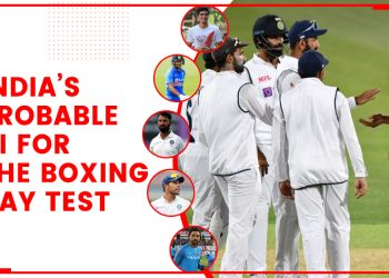 India's Probable XI for the Boxing Day Test