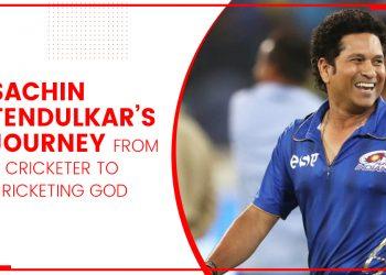 Sachin Tendulkar's Journey From A Cricketer To Cricketing God