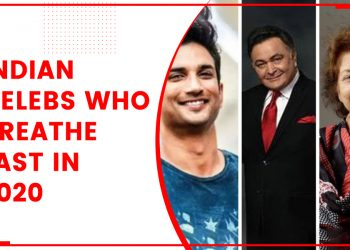 Indian Celebs Who Breathe Last In 2020