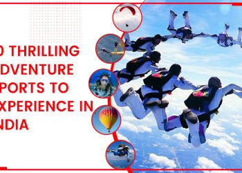 10 Thrilling Adventure Sports To Experience In India
