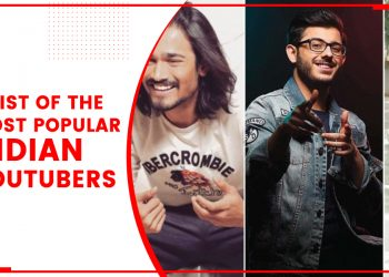 A List Of The Most Popular Indian YouTubers
