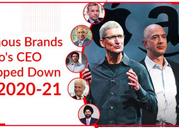 Famous Brands Who's CEO Stepped Down In 2020-21