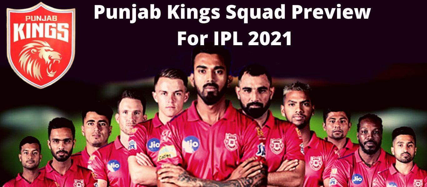 Team Punjab Kings (PBKS)